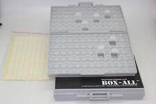 Deux couvercles boxall144 boîtier vide organisateur SMD SMT Surface Mount 0805 uk stock