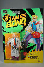 1991 Hasbro James Bond Jr. - Action Figure - I.Q. - MOSC