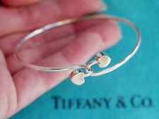 Tiffany & Co . Plata de Ley & 18ct 18ct Oro Corazón doble gancho Pulsera