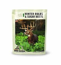 Biologic Winter Bulbs & Sugar Beets Annual Food Plot Seed 2.25 . Free Shipping