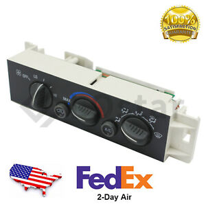 HVAC Climate Control Module For 2000 Cadillac 1996-2002 Chevrolet 1996-2002 GMC