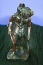 """West African, Sculpture, Hunter, 17"""""""