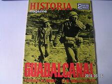 **a Historia Magazine n°36 Guadalcanal  Bataille de Midway  Vie dans les Stalags