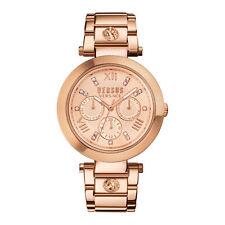 Orologio VERSUS Versace SCA050016 Multifunzione Bracciale Acciaio Rosè Oro Donna
