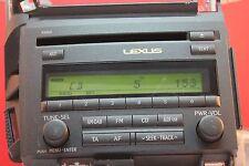 LEXUS CT200H CT 200H CD DAB RADIO PLAYER 2011 2012 2013 2014 2015 2016 53860