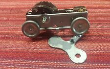 VTG NOS Toy Wind up motor car Gallery Amsterdam NY made in Japan WITH KEY motors
