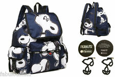 LeSportsac Peanuts X Snoopy Toss Voyager Backpack Rucksack NWT Free Ship 7839