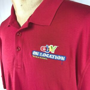 Ebay On Location Polo Golf XXXL Shirt Mens 3XL Tall Older Logo Youre In Business