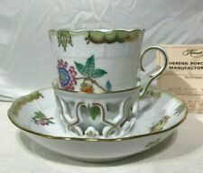 Herend Victoria Tremulous Cup And Saucer NEW 713 VBA