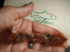 Irideus custom flies Matt's Masterpiece  Big Trout Tube fly stinger hook jointed