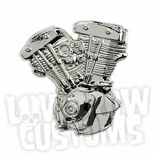 Lowbrow Customs Shovelhead Pin