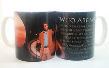 NEW CARL SAGAN WHO ARE WE? QUOTE MUG SCIENCE GIFT CUP COSMOS BOOK  ASTRONOMY