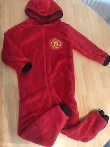 Manchester United fleece bodysuit Age Three To Four Official