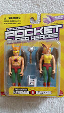 DC Direct Hawkman & Hawkgirl Pocket Super Heroes Action Figures  MOC
