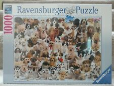 "Ravensburger 1000 Piece ""Dogs Galore"" Jigsaw Puzzle #15 633 7"