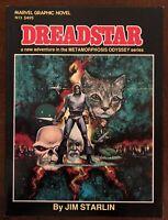 Marvel Graphic Novel 3 Dreadstar 1982 Jim Starlin Metamorphis Odyssey