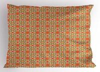 Middle Eastern Pillow Sham Decorative Pillowcase 3 Sizes Bedroom Decor Ambesonne