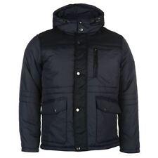 Lee Cooper Overcoat Hooded Coats & Jackets for Men