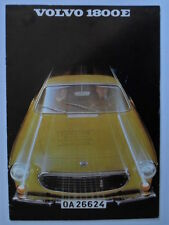 VOLVO 1800E SPORTS CAR orig 1969 UK Mkt Sales Brochure - P 1800 E
