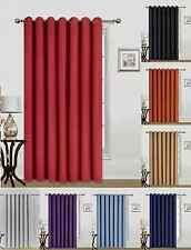 NEW 1 EXTRA WIDE WINDOW GROMMET PANEL CURTAIN HEAVY THICK THERMAL BLACKOUT K100