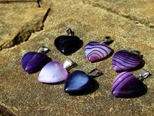 Angelic Violet Flame Pendant with 7 Ancient Spells Positive Energies