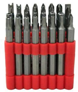 Dekton 32pc Torx, Hex,Torq, Triwing,Philips,Pozi, Flat & Spanner Screwdriver Bit