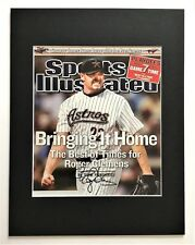 ROGER CLEMENS  signed autograph Sports Illustrated Houston Astros