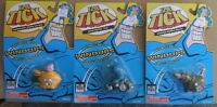 THE TICK LOT OF 3 WIND-UP TOYS MOC - THE TICK, SEWER URCHIN, CANNON HUMAN BULLET