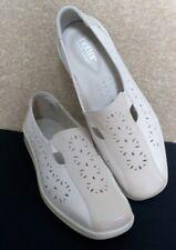 Pretty più caldo scarpe-Comfort Concept-DONNA CREMA Slip-on in pelle misura 7
