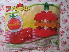 New for Sales - LEGO Duplo Food Apple Preschool Build Toy ( 6pcs  # 30068 )