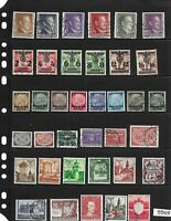 #5569     Stamps Third Reich occupation of Poland during WWII General Government