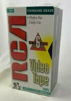 Lot of 3 RCA VHS Blank Video Tapes - Standard Grade - 6 Hours - T120H