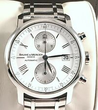 Baume Mercier Classima XL Executive Automatic Mens Chronograph Watch Model 65591