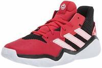 adidas Kids' Harden Stepback Sneaker, Black, Size  e18Q