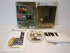 Battlefield Bad Compagny Gold Edition Steelbook XBOX 360 Pal Fr Complet
