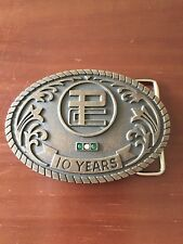 Looks Like Logo Belt Buckle P C Maybe Stones 10 Year Buckle By Balfour
