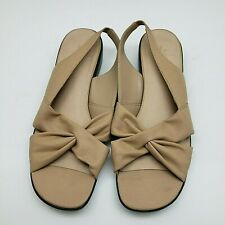 Life Stride Woman's Sandals Size 9.5 W Brown