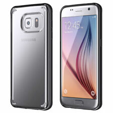 Official Griffin Reveal Clear Black Ultra Slim Back Cover Case Samsung Galaxy S7