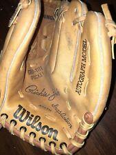 New listing Wilson Baseball Glove Autograph Richie Zisk