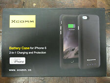 Ultra Slim Battery Case 3200mAh Extra Battery Black (4.7 Inches) for Iphone 6