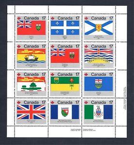 Canada MNH Complete Mini Sheet MNH 832a
