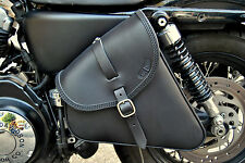 LEATHER BAG FOR HARLEY DAVIDSON SPORTSTER FORTY EIGHT, IRON, 72