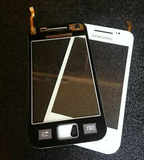 For Samsung Galaxy Ace S5830 Touch Screen Digitizer Glass Lens White Replacement