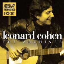 Leonard Cohen - The Archives (6cd Box) NEW CD BOX SET