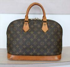 AUTHENTIC LOUIS VUITTON ALMA Monogram Handbag No.1155