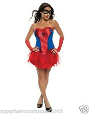 The Amazing Spider-Man Spider-Girl Female Costume Marvel Size 6-10 Rubies 820014