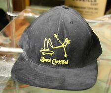 board certified old skool ballcap hat for the head skateboard trick riding hawk