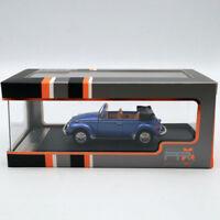 1:43 Premium X VOLKSWAGEN SUPER BEETLE 1973 CONVERTIBLE METALLIC BLUE PRD531