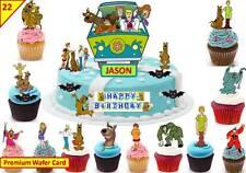 Scooby Doo Cup Cake 3d escena Topper Oblea Comestibles Fiesta De Cumpleaños De Pie Personalizado