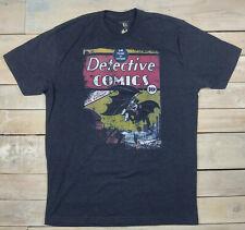 Batman DETECTIVE COMICS #27 Vintage Style Graphic Gray T-Shirt Size L USA Made